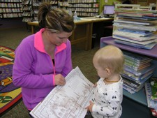 Donations supplement the library's early literacy efforts, funding books and programs that get children ready to read.